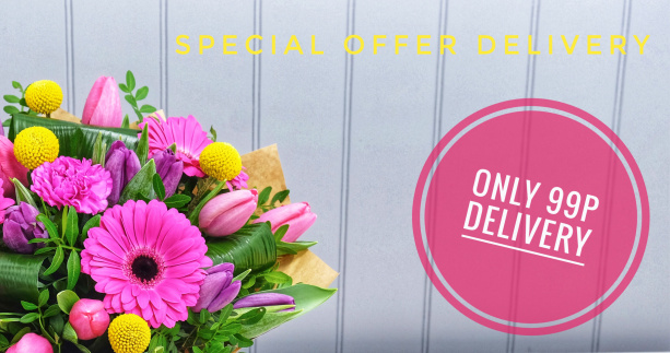 99p cheap flower delivery solihull