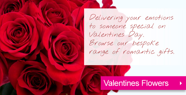 Birmingham Solihull Florist Red Roses Valentines Day Flowers Delivered