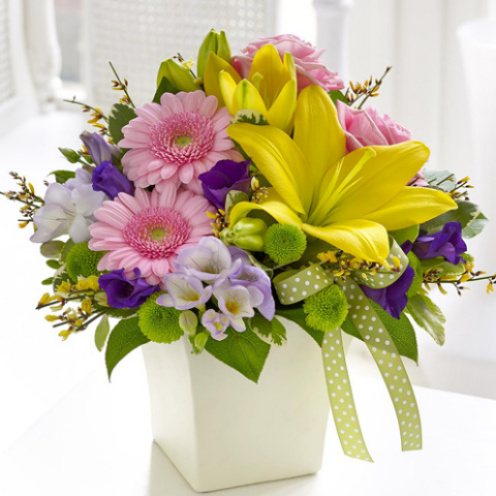 Pastel Chic Arrangement