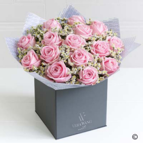 Deluxe Vera Wang Pink Perfection Bouquet