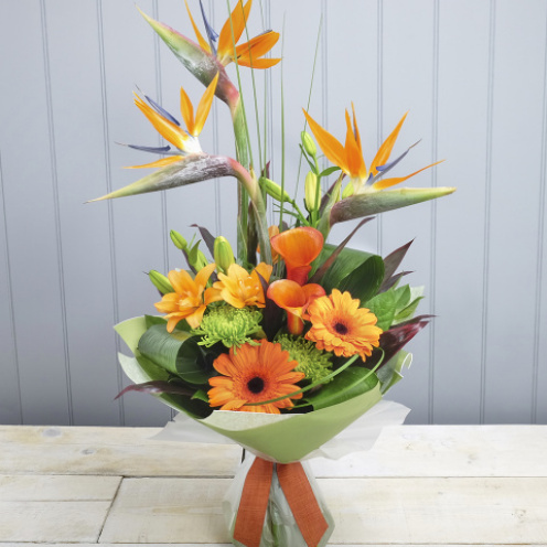Birds Of Paradise Hand-tied
