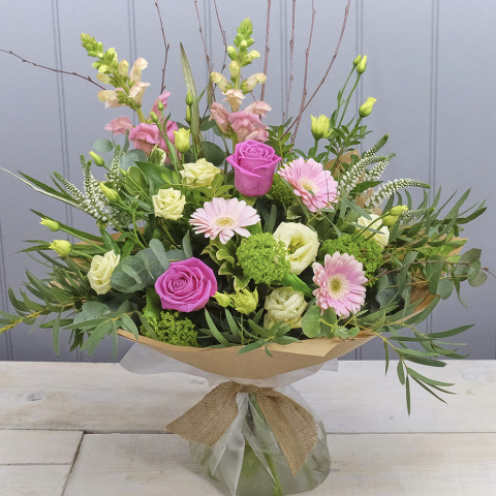 Country Classics Pink Hand-tied