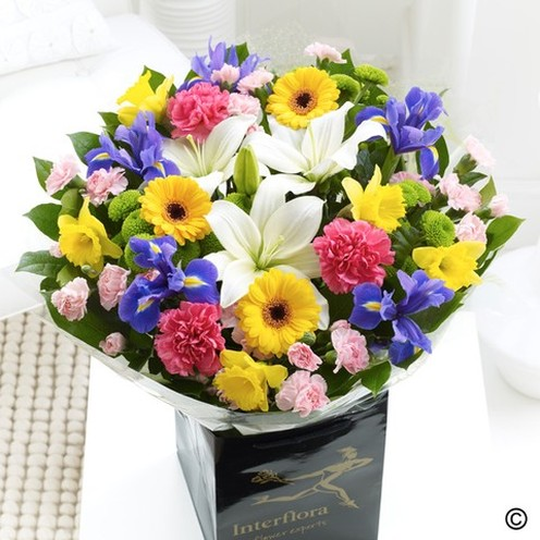 Deluxe Spring Hand Tied