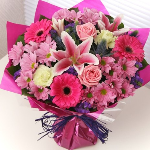 Pink Wish Hand-tied