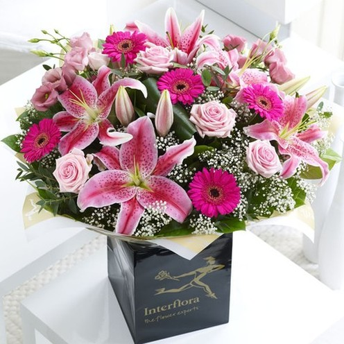 Superior Pink Radiance Hand-tied